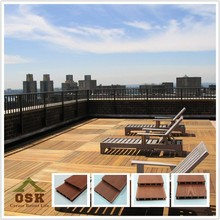 2015 hot sale decking outdoor wooden floor composite decking