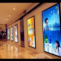 Outdoor indoor advertising ultra slim ACRYLIC crystal LED light box