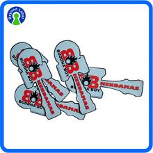 Self Adhesive Die Cut PVC Vinyl Sticker, Individually Custom Waterproof Adhesive PVC Sticker