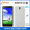 low cost 5.5 inch android mobile phone/quad core phone 1gb ram/ android 4g dual sim mobile