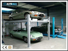 4 post auto car parking equipment/parking lot/With CE