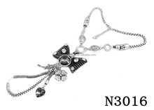 N3016 Charming Butterfly shape pendant necklace