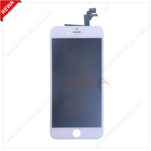 Aftermarket LCD Display and Touch Screen Digitizer for iPhone 6 Plus 5.5 inch LCD with Front Bezel