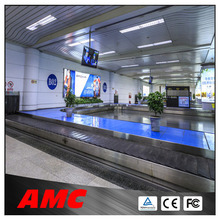 PVC Airport Baggage/luggage round conveyor belt
