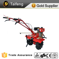 HoT Sell Mini Tractor Electric Tyres Cultivator