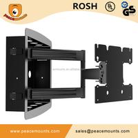 Fantastic Design Tilt Swivel Adjustable VESA200X200 Articulating Top Quality Full Motion Ressed TV Mounts
