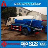 4x2 sewage suction truck