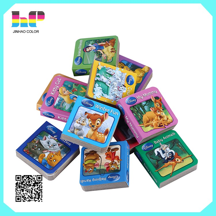 Children Casual Games Paper Box  Books Printing,Gold Foil Logo Story Books Printing,Hardcover Book  English Short Story Books Printing
