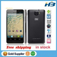 Original 6 inch THL T200 3G Octa Core Smartphone MTK6592 FHD IPS 1920x1080 2G 32G Android 4.2 BT GPS Dual Sim 13.0MP Camera