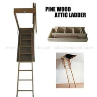 Wood Attic ladder/loft ladder