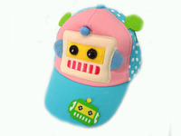 wholesale child hats 2014 latest kids funny winter hats caps baby winter animation sun visor hat