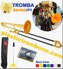 Plastic Trombone -YELLOW