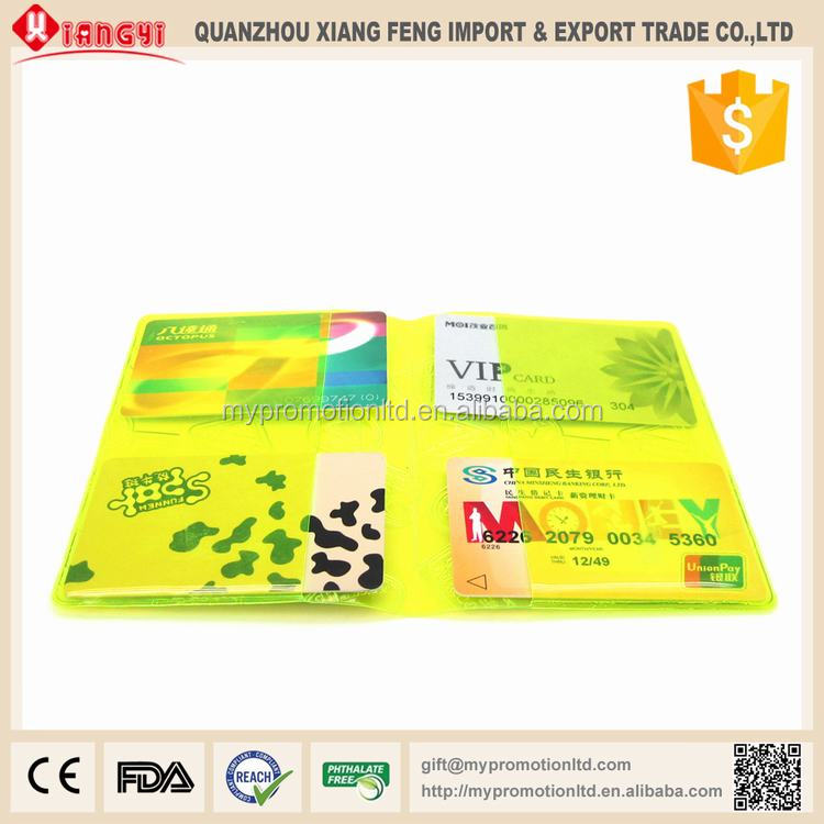 CE approved pvc business card cheap business card pocket