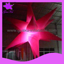 colorful led inflatable star for decoration (2015Gus-LT-068)