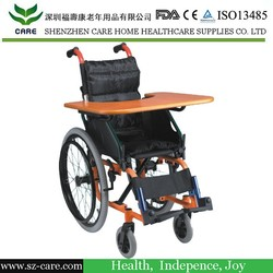 Plastic designed wheelchair tray