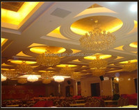 golden hotel chandelier,traditional glass pendant lamp,traditional iron light