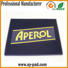 AY Anti-slip Water Proof Bar Pad Beer Mat Flipping Soft Pvc Bar Mat For Bar Promotion Activity