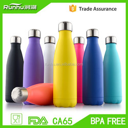 hot sale 500ml Double Walled Vacuum flask /17OZ Stainless Steel Sport Water Bottle