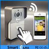 ATZ E-Bell Smart Home Full Duplex Audio Wireless Video Door Phone HD WiFi Doorbell Intercom for Apartments Villas