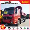 HOWO 4x4 off road tipper dumper dumping trucks all wheel drive dump tipper truck
