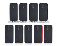 Newest for Galaxy S5 i9600 Premium Tough Armor Hybrid Anti-shock Back Hard Case Metal Slate Color