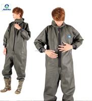 Army Green Fishing Breathable Wader Rubber Suit