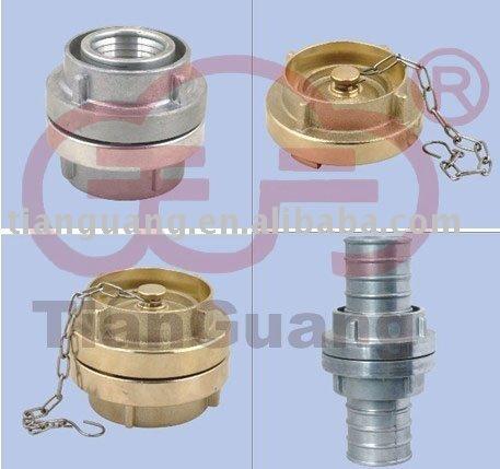 Feu raccord de tuyau ( laiton raccord de tuyau, Aluminium couplage, Storz couplage )