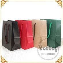 Ppaer Twist handle Brown Kraft Paper shopping Bags manufacturer