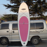 manufacturer wholesale pink surfboard sup board inflatable