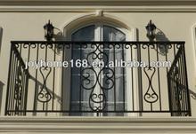 decorativa barandillas de hierro forjado de diseño