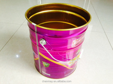 16L Tin drum with steel handle for Latex paint, coating or other chemical products