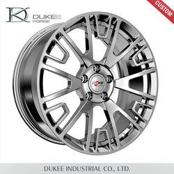 2015 High Quality DK04-199001 5 Hole Alloy Wheel Rim, Forged Sliver Car Wheel Rim