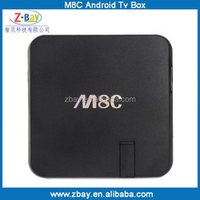 Newest M8 Amlogic s802 Quad Core android tv box webcam with skype