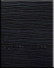 Placa de MDF UV com preto padrão de madeira