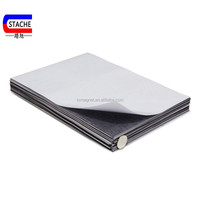 A4 size adhesive magnetic sheets