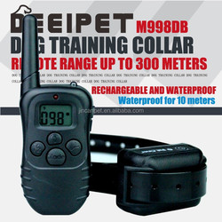 Stop barking electric dog trainer/ 300 meters remote control