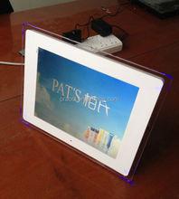 12 inch led digital frame media / logo digital picture frame