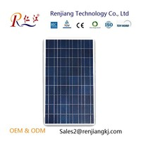 China Competitive Price Poly Silicon Solar Cells Solar Panel 130W