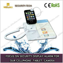 cellphone +poster acrylic alarm security display stand