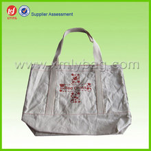 Eco High Quality Cotton Natural Canvas Tote Bag