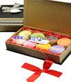 elegante papel comestível caixa de macarons