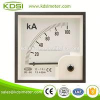Factory direct sales BE-96 DC4-20mA 100KA analogue panel meter
