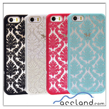 Rubberized Girly Damask Vintage Phone Case for iPhone5 5s