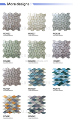 Mytest Mosaic 327x327x4mm Ice Jade