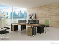 Modern glass top office desks