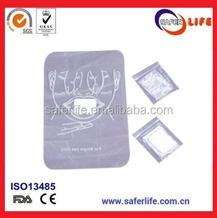 Face Mask For Cpr Bag Cpr Reusable Face Mask