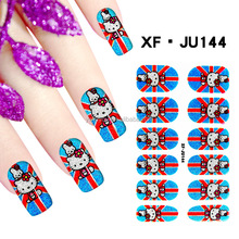 Fashion finger nail jewelry Nail Art Decals Foils Fashion Adhesive Wraps Manicure Stickers