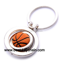 promotion shape metal custom basketball key chain (KBK52119ta)