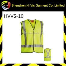 X Taped Hi Vis safety reflective vest