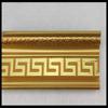 golden plastic decorative ceiling moulding